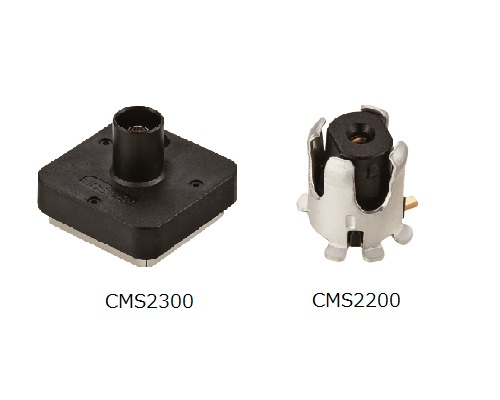 Rear Case Assembly (with socket) / Miniature Receptacle for Automotive Camera Coaxial Connector Supporting High-speed Signals (6 Gbps)